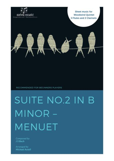 Suite No.2 in B Minor -   Menuet