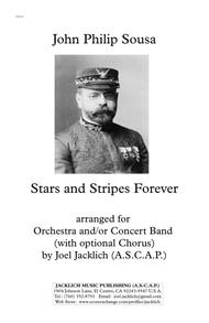Stars and Stripes Forever (Orchestra and/or Concert Band, with optional Chorus) 11