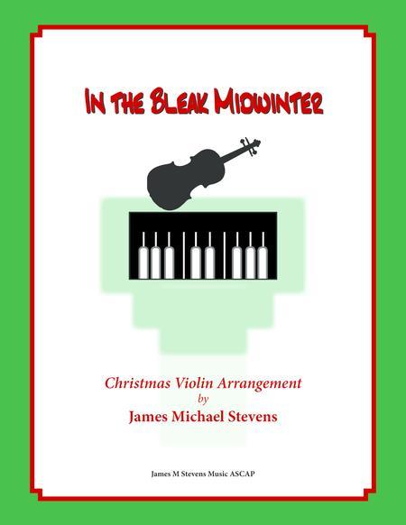 In the Bleak Midwinter - VIOLIN