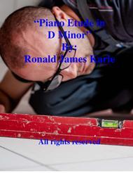 Piano Etude in D Minor