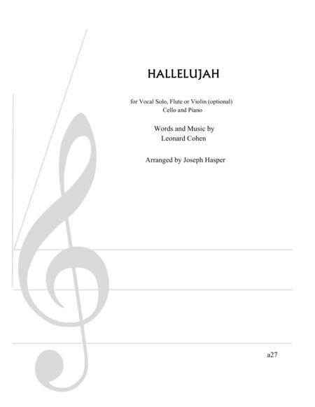 Hallelujah (vocal)