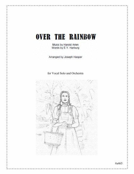 Over The Rainbow (vocal solo and orchestra)