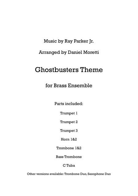 Ghostbusters Theme - Brass Ensemble
