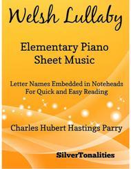 Welsh Elementary Piano Sheet Music