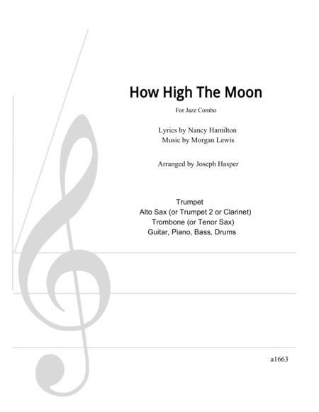How High The Moon (Flexible Jazz Combo)