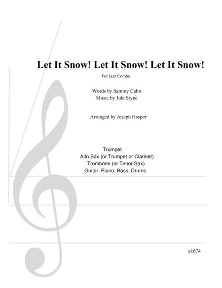 Let It Snow! Let It Snow! Let It Snow! (Flexible Jazz Combo)