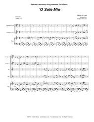 O Sole Mio (for Brass Quartet and Piano)
