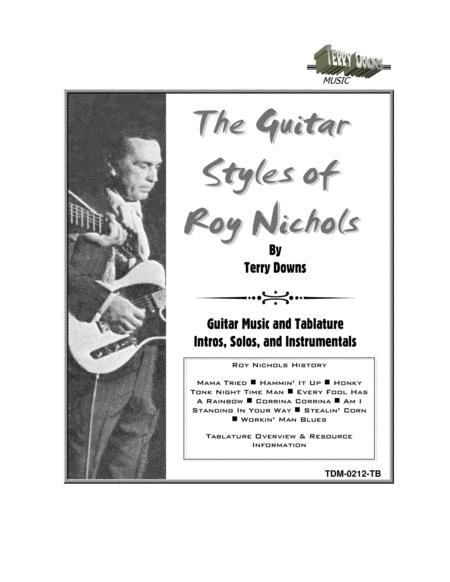 The Guitar Styles of Roy Nichols - Music Score and Tablature
