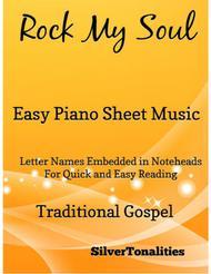 Rock My Soul Easy Piano Sheet Music