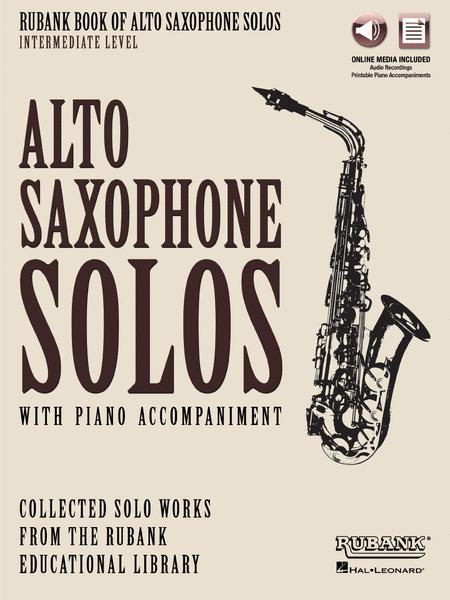 Rubank Book of Alto Saxophone Solos - Intermediate Level