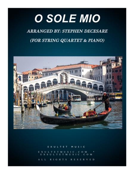 O Sole Mio (for String Quartet and Piano)
