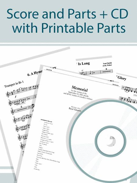 Morning Star - Full Score and Parts plus CD with Printable Parts
