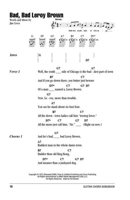 Preview Jim Croce Guitar Chord Songbook By Jim Croce Hl148087