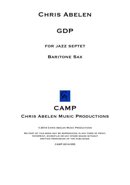 GDP - Baritone Saxophone
