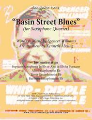 Basin Street Blues (for Saxophone Quartet SATB or AATB)