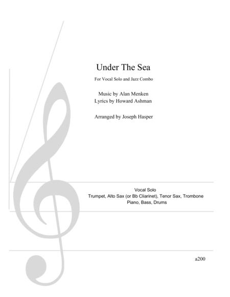 Under The Sea (Vocal and Jazz Combo)