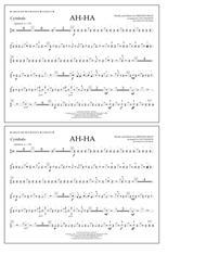Ah-ha - Cymbals