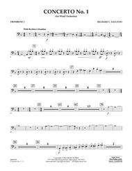 Concerto No. 1 (for Wind Orchestra) - Trombone 2