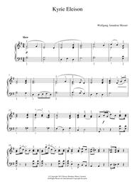 Kyrie Eleison (from 'Mass No.12')