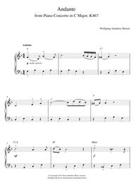 Andante from Piano Concerto in C Major (Elvira Madigan) K467