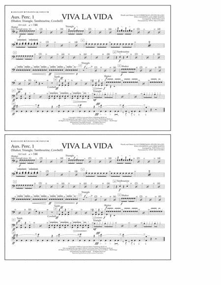 Viva La Vida - Aux. Perc. 1
