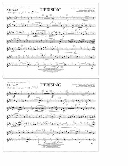 Uprising - Alto Sax 2