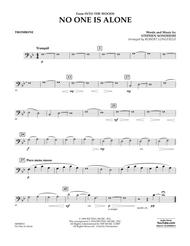 No One Is Alone - Trombone