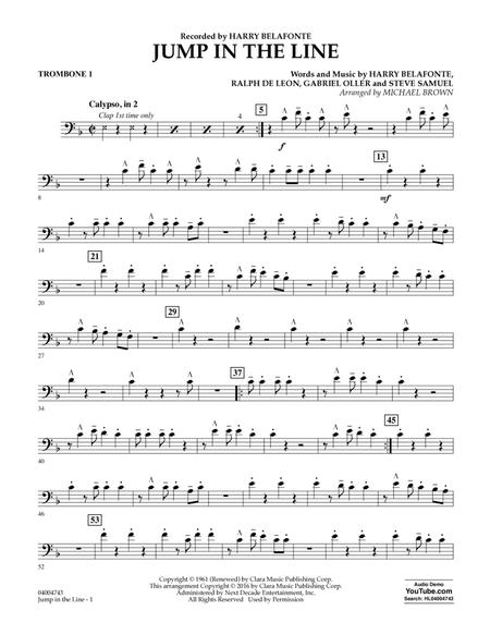 Jump In The Line Trombone 1 By Harry Belafonte Jeff Simmons Digital Sheet Music For Concert Band Download Print Hx 337158 From Hal Leonard Digital Sheet Music At Sheet Music Plus