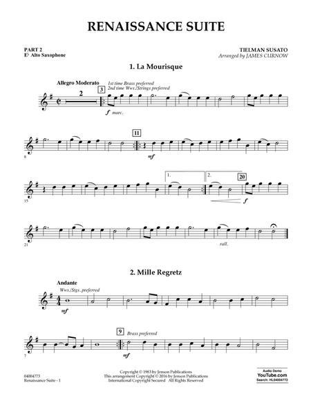 Renaissance Suite - Pt.2 - Eb Alto Saxophone