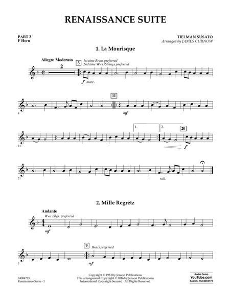 Renaissance Suite - Pt.3 - F Horn