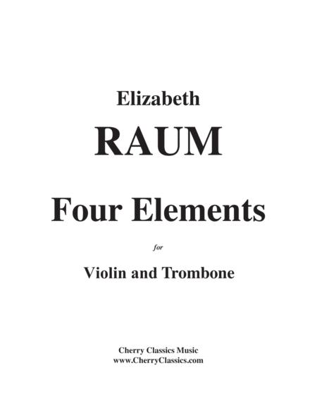 Four Elements for Violin and Trombone