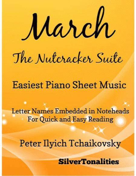 March the Nutcracker Suite Easiest Piano Sheet Music