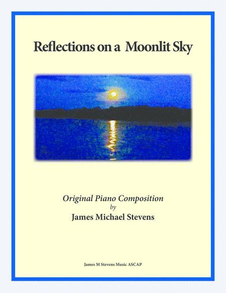 Reflection on a Moonlit Sky