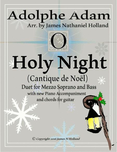 O Holy Night (Cantique de Noel) Adolphe Adam Duet for Bass and Mezzo Soprano