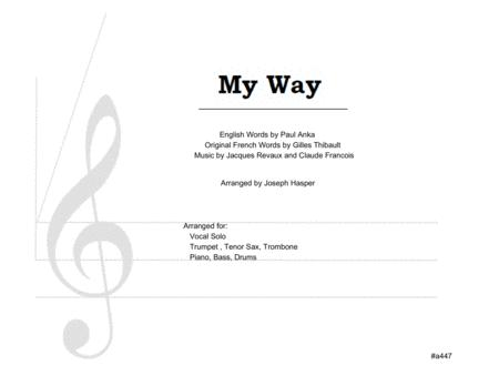 My Way (Vocal Solo and Jazz Combo)