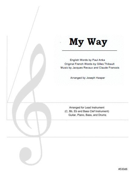 My Way (Basic Jazz Combo)