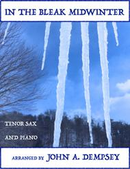 In the Bleak Midwinter (Tenor Sax and Piano)