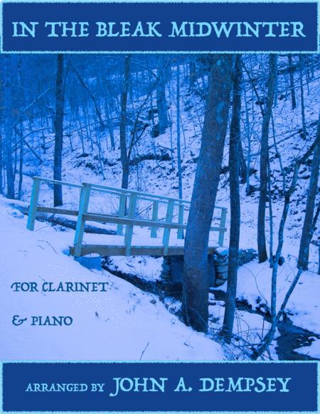 In the Bleak Midwinter (Clarinet and Piano)