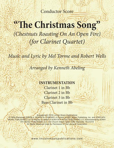 The Christmas Song (Chestnuts Roasting On An Open Fire) (for Clarinet Quartet)