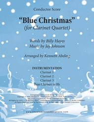 Blue Christmas (for Clarinet Quartet)