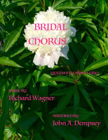 Bridal Chorus (Wedding March for Piano Trio)