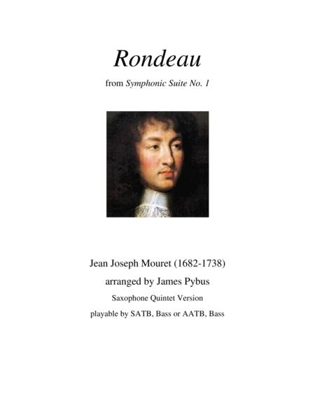 Rondeau from Symphonic Suite No. 1 (Masterpiece Theatre theme) (Saxophone Quintet version)