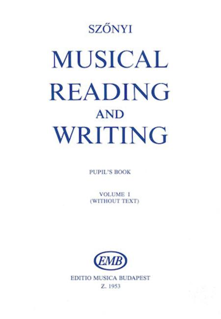 Methodik des musikalischen Schreibens und Lesens 1