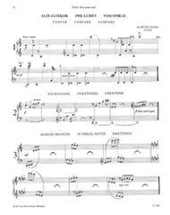 Kunterbunt Klavierstucke zeitgenossischer Kompon