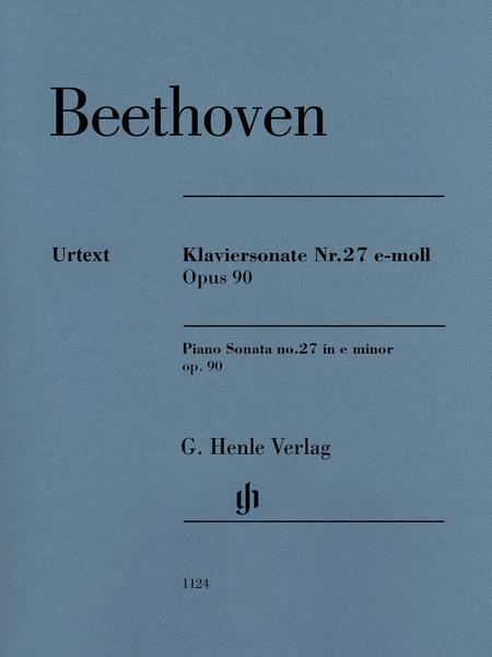 Piano Sonata No. 27 in E Minor, Op. 90
