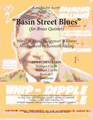 Basin Street Blues (for Brass Quintet)
