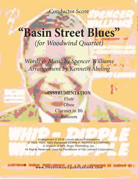 Basin Street Blues (for Woodwind Quartet)