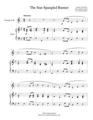 The Star-Spangled Banner - for trumpet and piano