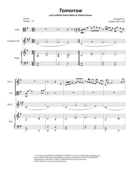 Tomorrow (for String Quartet)