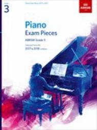 Piano Exam Pieces 2017 & 2018, Grade 3